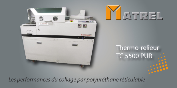 Thermo-relieur Pur MATREL